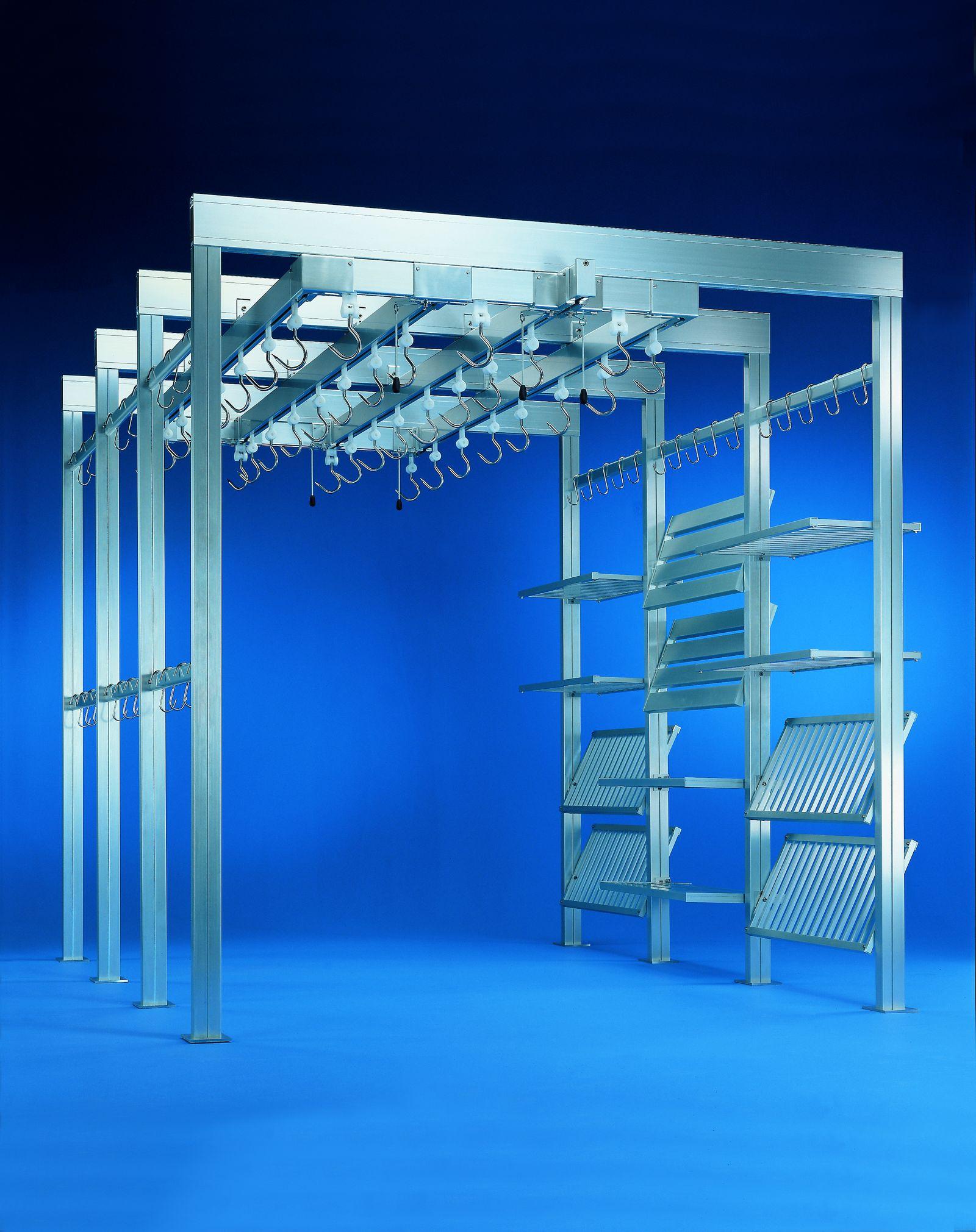 guidovie modulari autoportanti per celle frigorifere
